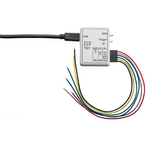 ELV Komplettbausatz Triggergenerator TG1 für SPI/I2C/UART