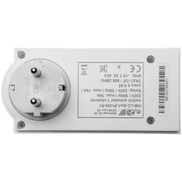 ELV Homematic ARR-Bausatz Zwischenstecker-Schaltsteckdose HM-LC-Sw1-Pl-DN-R1