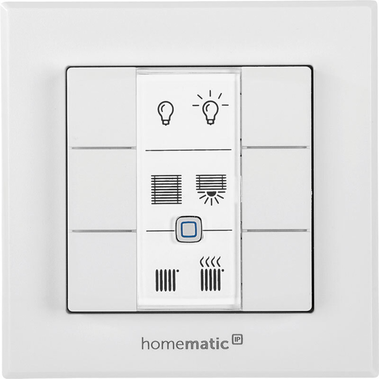 ELV Homematic IP ARR-Bausatz Wandtaster 6-fach HmIP-WRC6- für Smart Home - Hausautomation