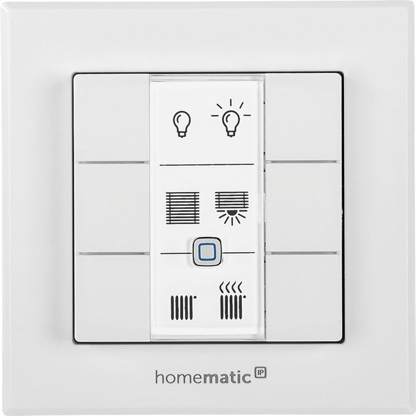 Homematic IP Smart Home Wandtaster HmIP-WRC6 - 6-fach