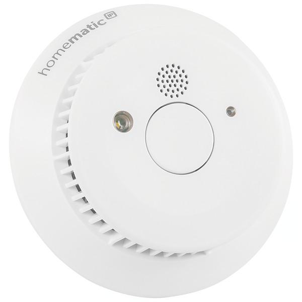 Homematic IP Rauchwarnmelder HmIP-SWSD mit 10-Jahres-Lithium-Batterie, 3er-Set