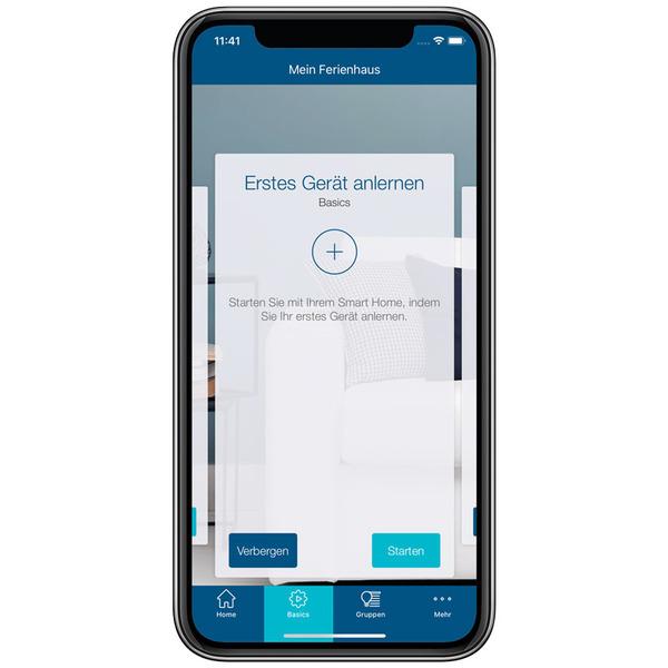 Homematic IP Smart Home Bewegungsmelder HmIP-SMO mit Dämmerungssensor – außen, weiß