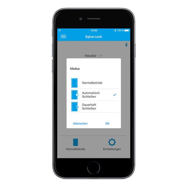 Eqiva BLUETOOTH® Smart Türschlossantrieb mit App-Steuerung