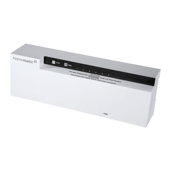 Homematic IP Fußbodenheizungsaktor HmIP-FAL230-C6 – 6fach, 230 V