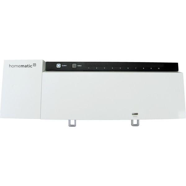 Homematic IP Smart Home Fußbodenheizungsaktor HmIP-FAL230-C10 – 10fach, 230 V