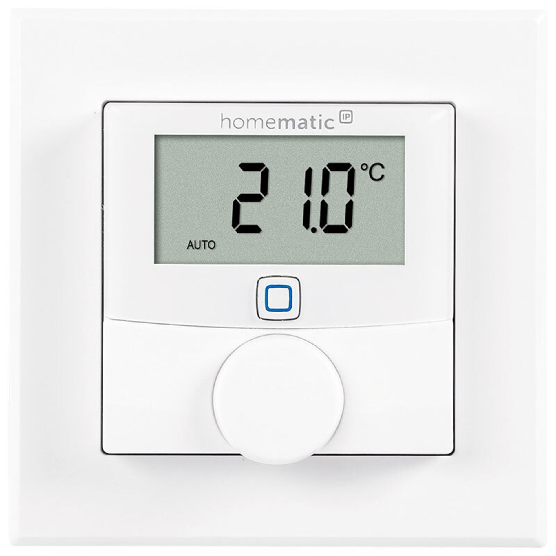ELV Homematic IP Komplettbausatz Wandthermostat HmIP-WTH-2- für Smart Home - Hausautomation