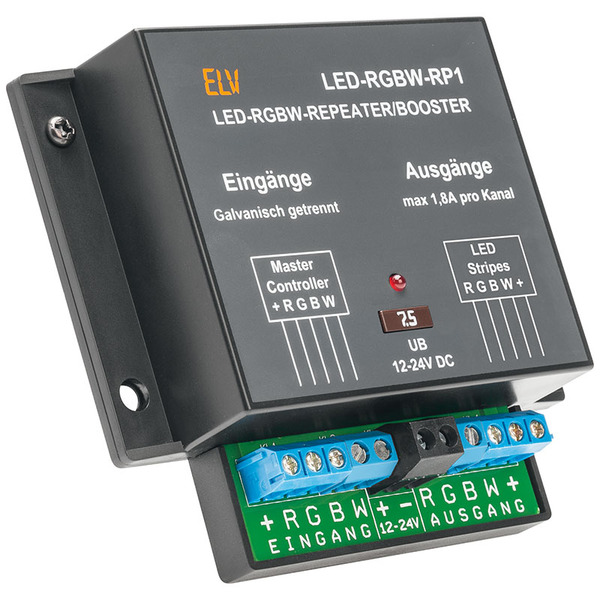 ELV Komplettbausatz LED-RGBW-Repeater/Booster