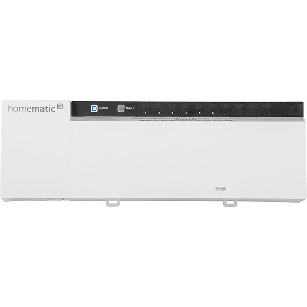 Homematic IP Smart Home Fußbodenheizungsaktor HmIP-FAL24-C6 – 6fach, 24 V