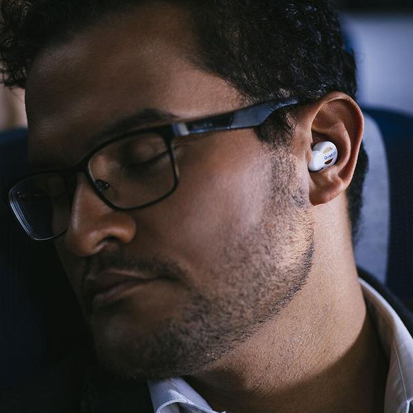 QuietOn Kabelloser In-Ear-Kopfhörer, aktives Noise-Cancelling, bis zu 50h Akkubetrieb