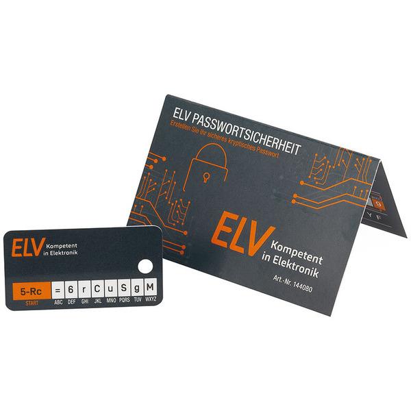 ELV Kryptonizer, zur sicheren Verschlüsselung von Passwörtern