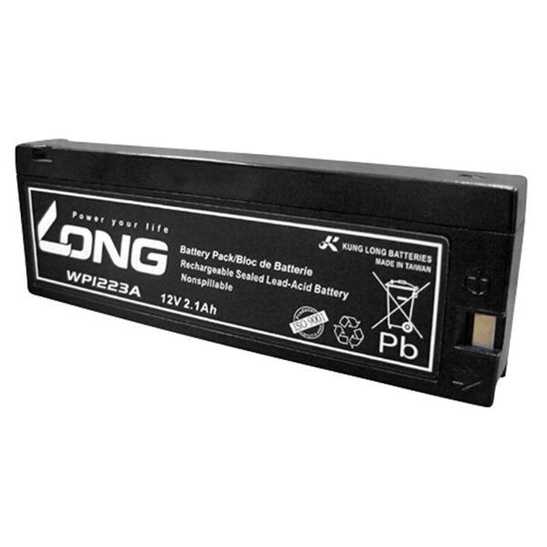 Kung Long Blei-AGM-Akku WP1223A, 12V, 2,1Ah mit Snap Kontakt