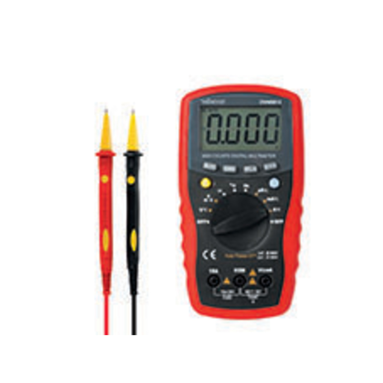 Velleman Digital-Multimeter - CAT III 600 V - CAT IV 300 V - 15 A