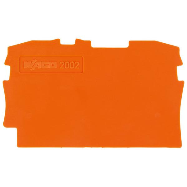Wago Trennplate 2002-1294, orange, 2 mm dick