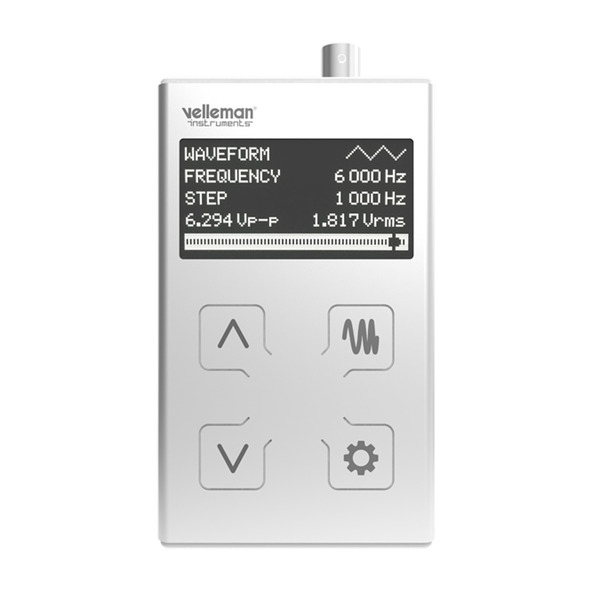 Velleman Funktionsgenerator HPG 1 MK 2 im Taschenformat - 1 MHz