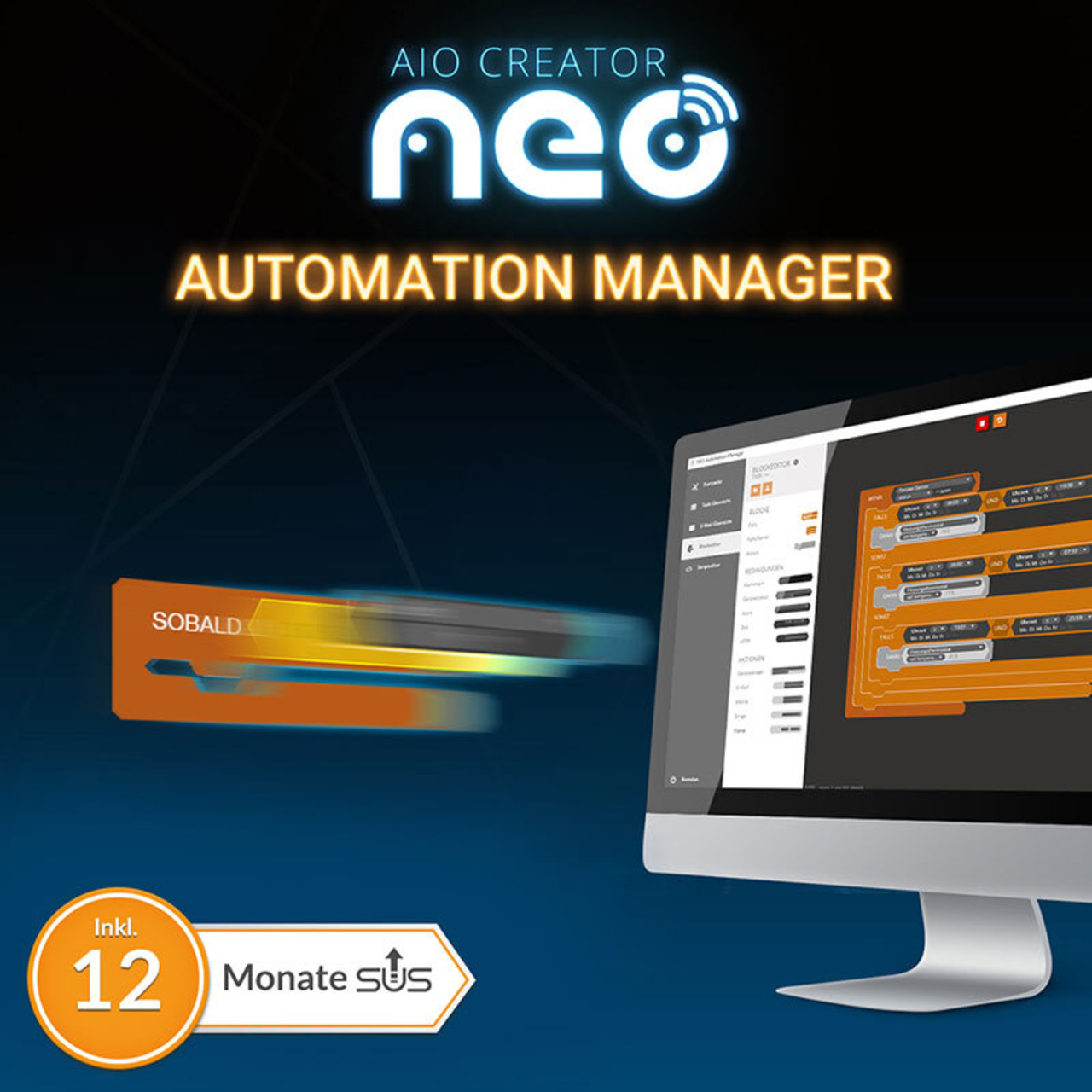 mediola NEO Plugin Automation Manager (inkl- 12 Monate Subscription Update Service)