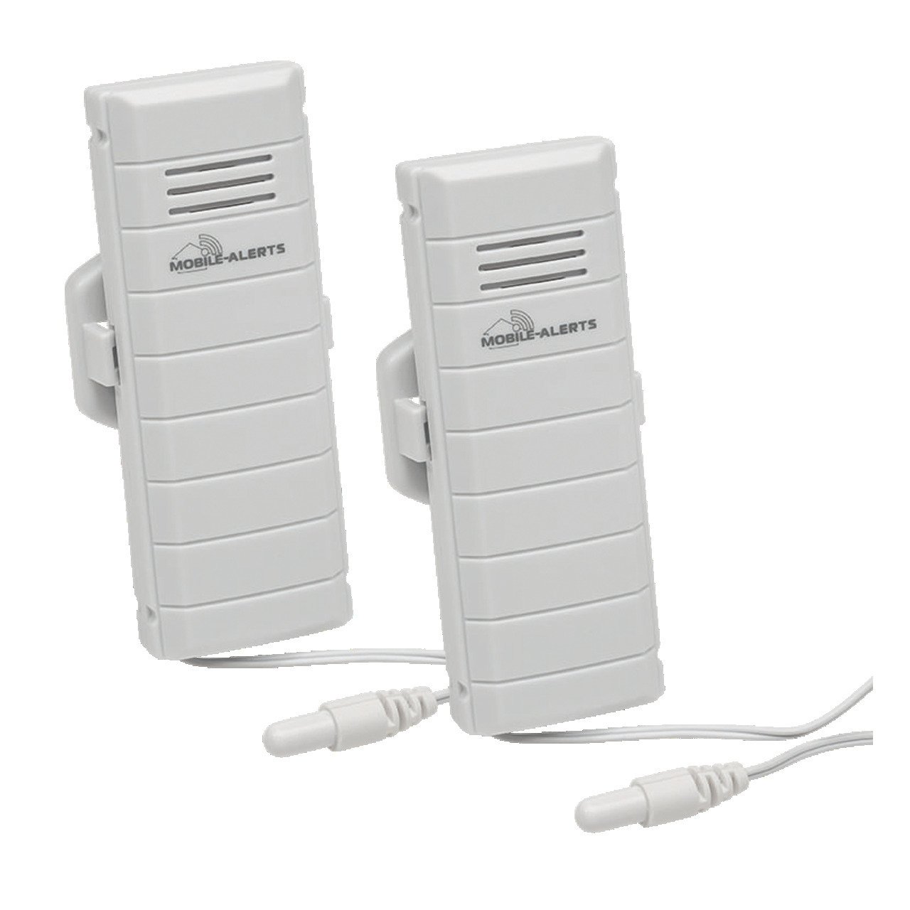 ELV Mobile Alerts Temperatursensor MA10120PRO- mit zusätzlichem Kabelsensor- 2er Set