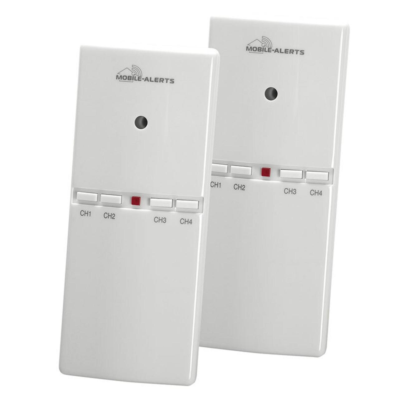 ELV Mobile Alerts Alarmgeber MA10860 für Gefahrenmelder- inkl- Temperatursensor- 2er Set