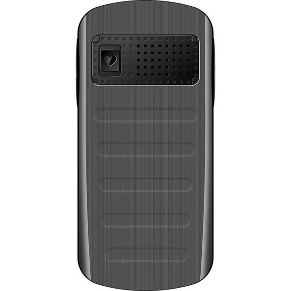 Bea-fon Großtastenhandy SL250, schwarz/silber