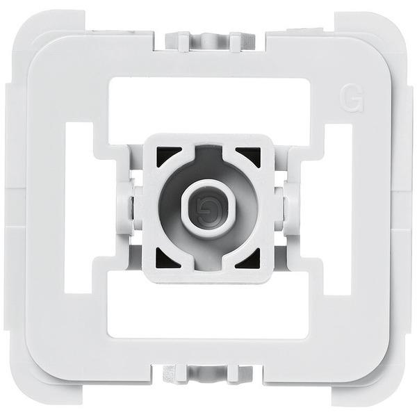 Installationsadapter für Schalter Gira 55, 1er-Set für Smart Home / Hausautomation