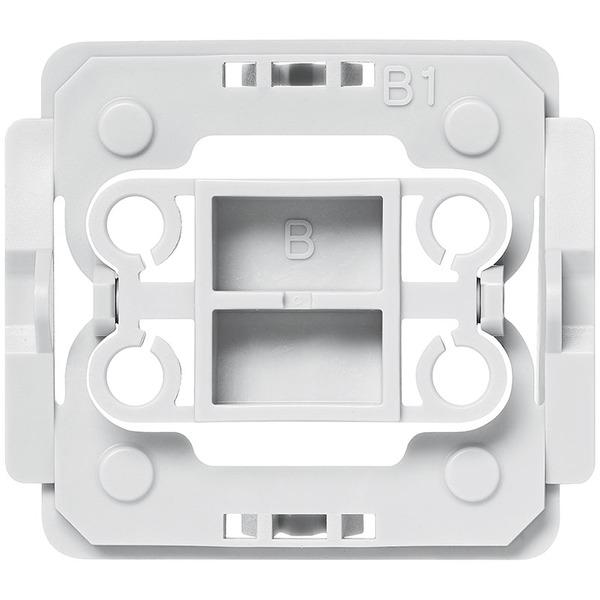 Installationsadapter für Berker-Schalter, B1, 1er-Set für Smart Home / Hausautomation