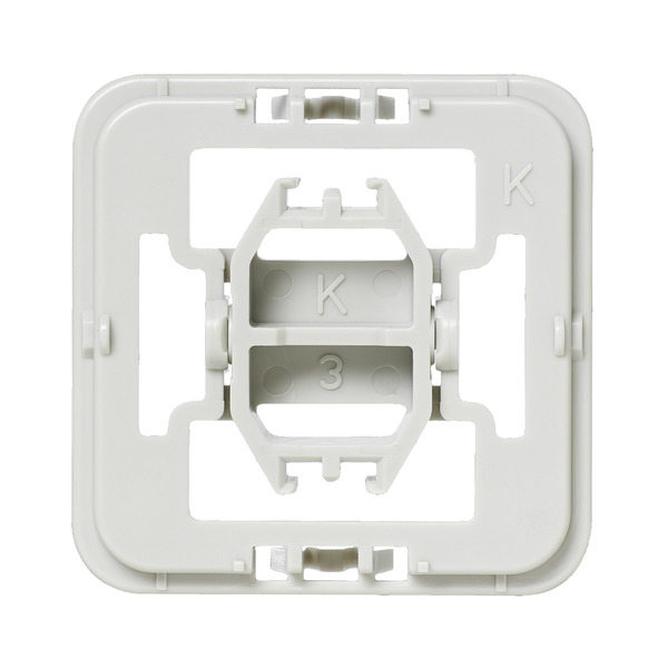 Installationsadapter für Kopp-Schalter, 20er-Set für Smart Home / Hausautomation