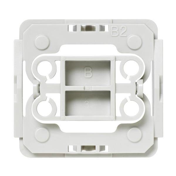 Installationsadapter für Berker-Schalter, 20er-Set für Smart Home / Hausautomation
