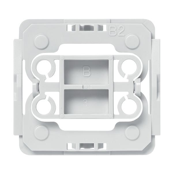 Installationsadapter für Berker-Schalter, 1er-Set für Smart Home / Hausautomation