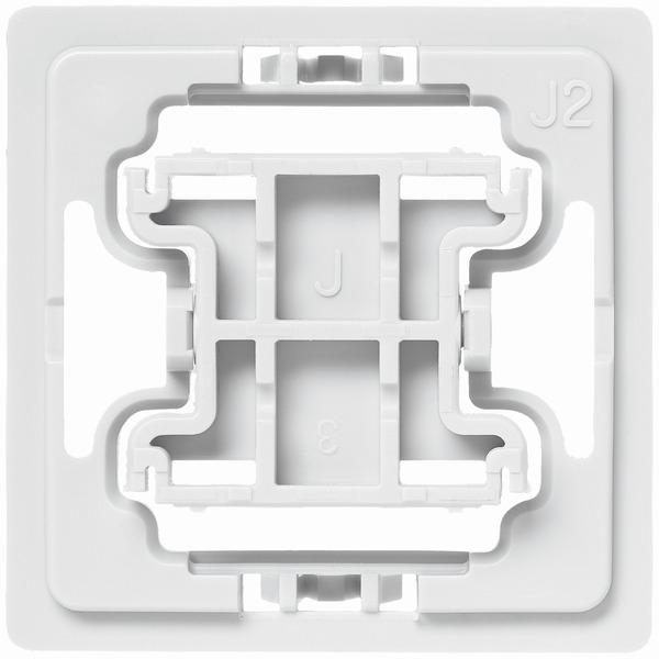 Installationsadapter für Jung-Schalter, J2, 1er-Set für Smart Home / Hausautomation