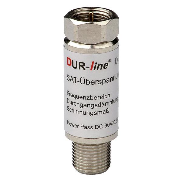 DUR-line Überspannungs-/Blitzschutz DLBS 3001, 0,3 dB Durchgangsdämpfung, passend zu Erdungsblöcken