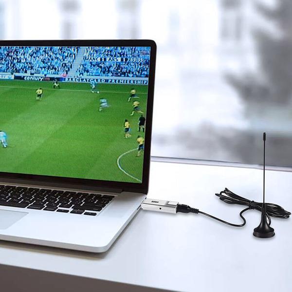 August USB DVB-T2-HD-Stick DVB-T230, H.265/HEVC, für Notebook und PC (ab Windows 7)
