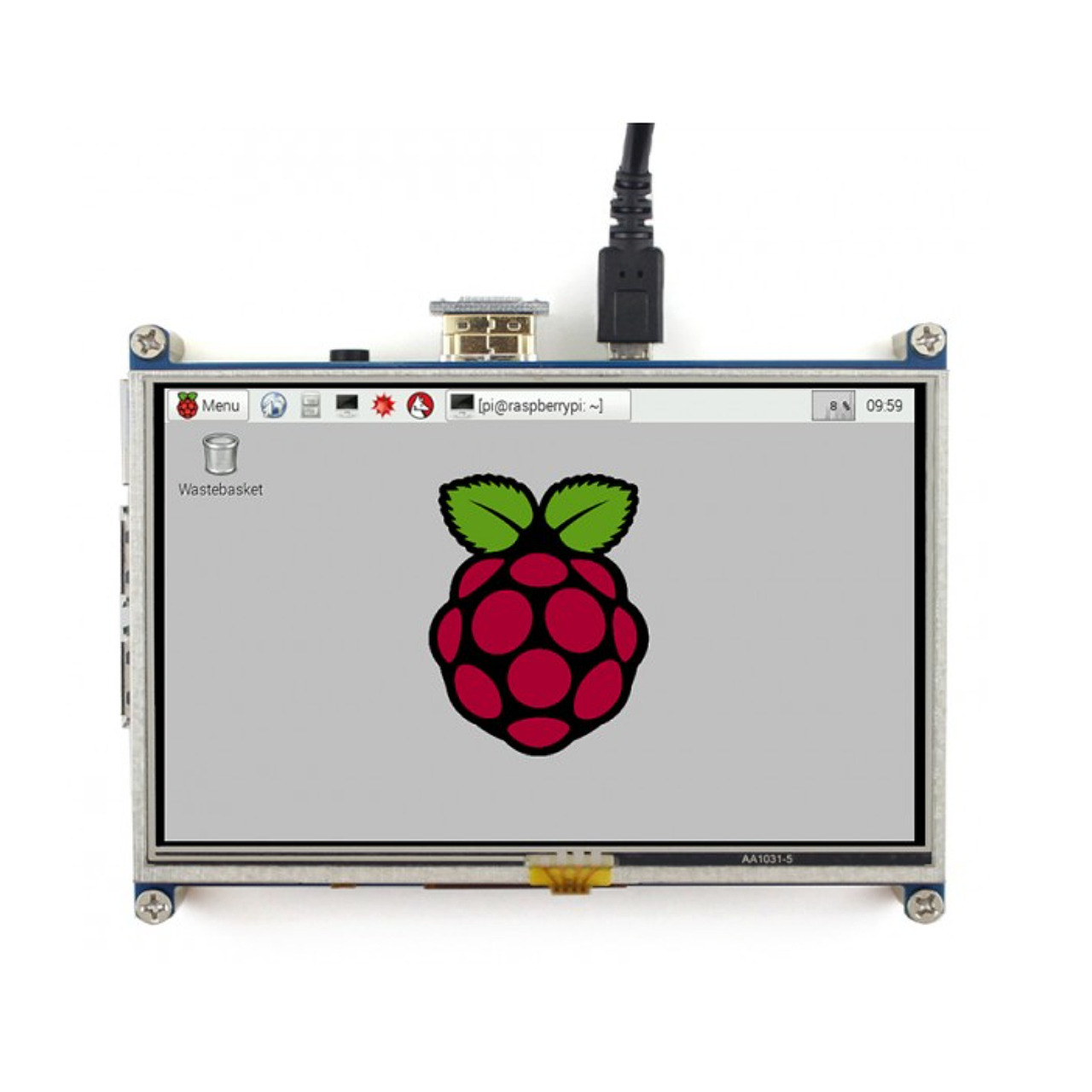 JOY-iT 12-7 cm (5) Touch-Display für Raspberry Pi- 800 x 480 Pixel