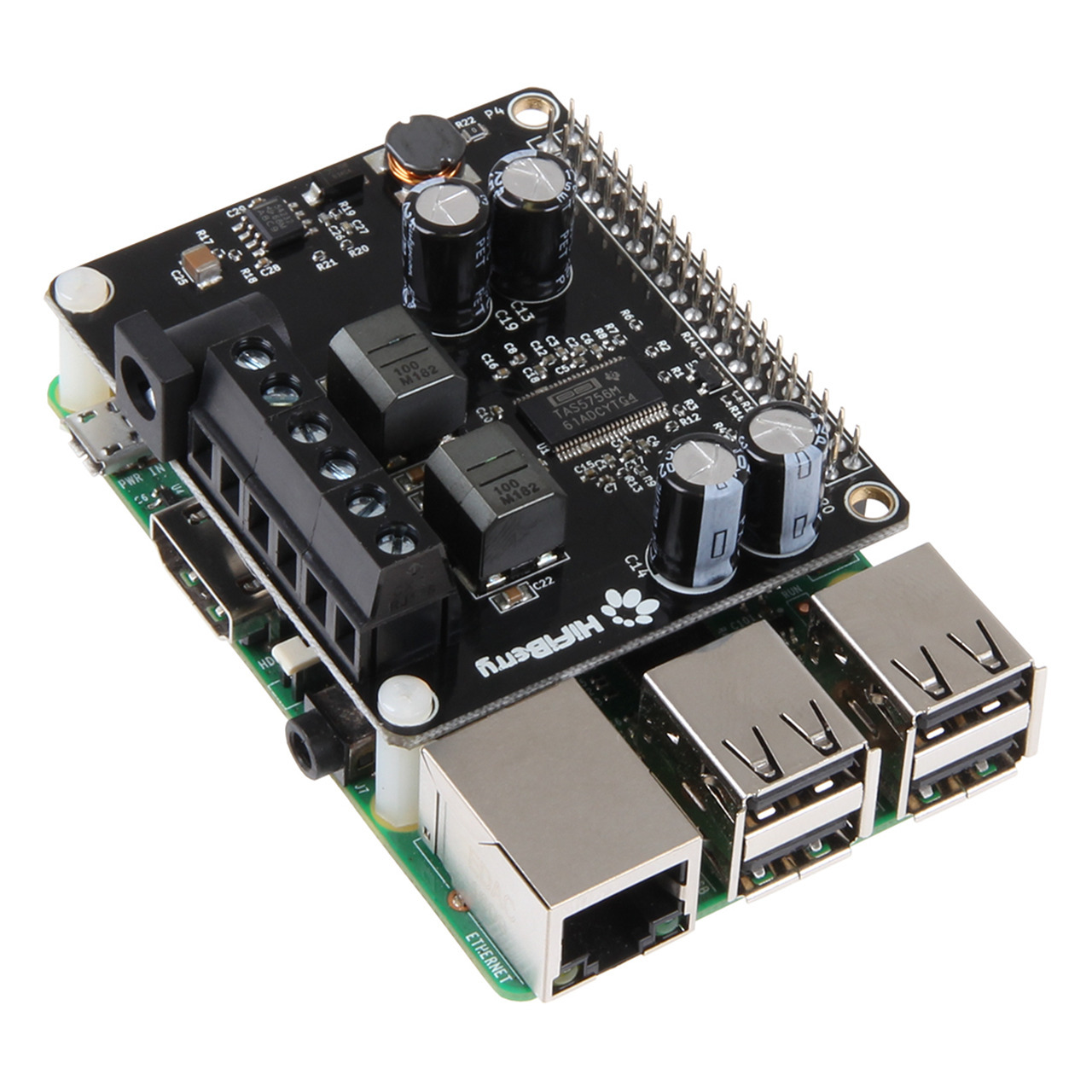 HifiBerry AMP2- Soundmodul für Raspberry Pi
