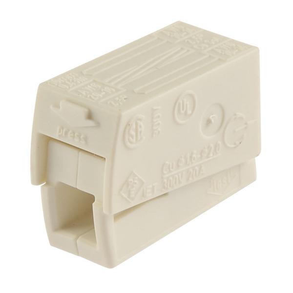 Wago Leuchtenklemme Typ 224, weiß 2x2,5 mm²