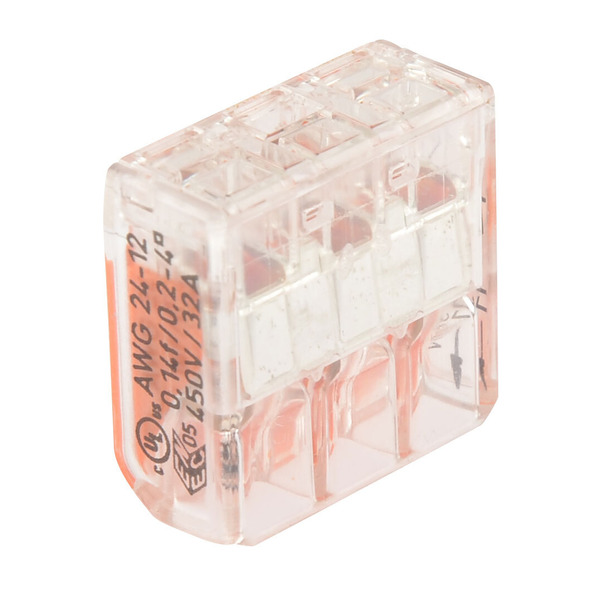 Wago 221-413 COMPACT Verbindungsklemme 3 x 4 mm²