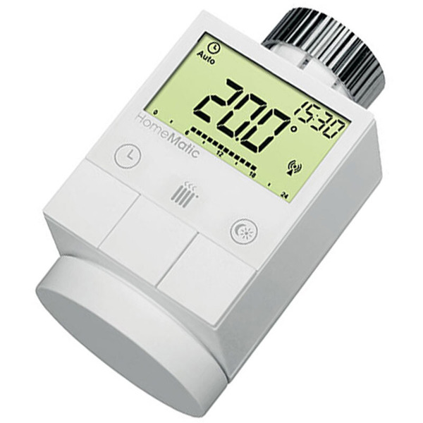 Homematic 3er Set Funk-Heizkörperthermostat HM-CC-RT-DN für Smart Home / Hausautomation