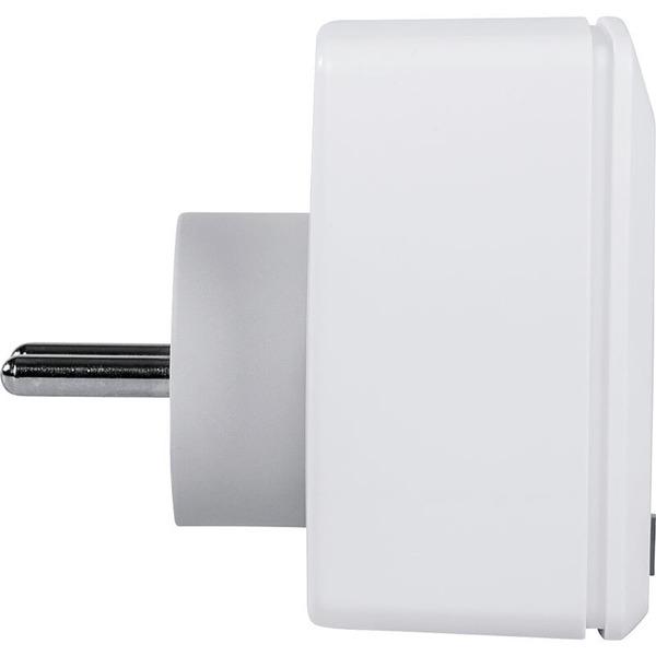 Homematic IP Smart Home Schalt-Mess-Steckdose Pin-Earth (nur für Frankreich und Polen)