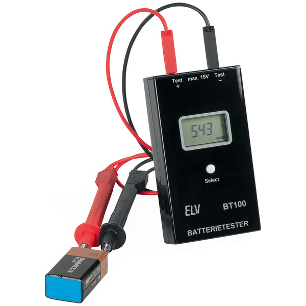 ELV Bausatz Batterietester BT100