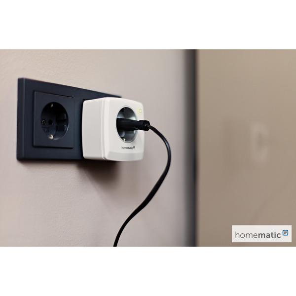 Homematic IP Smart Home Schalt-Mess-Steckdose HMIP-PSM