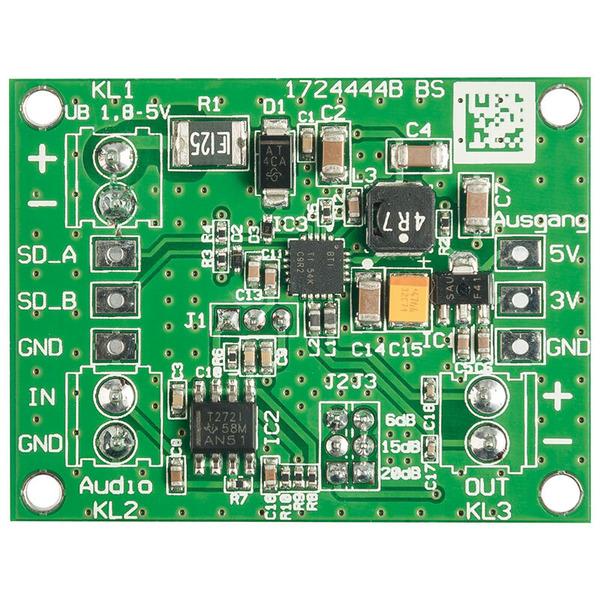 ELV Komplettbausatz 2W-Class-D-Verstärker DA2