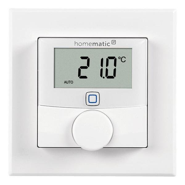 Homematic IP 3er Set Wandthermostat mit Schaltausgang HmIP-BWTH für Markenschalter, 230 V