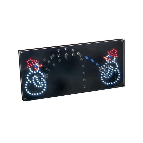 ELV Bausatz Frontplatte mit Montageset für den LED Schneeballschlacht