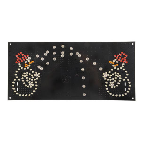 ELV Bausatz LED Schneeballschlacht LED-SBS