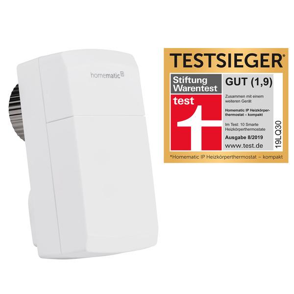 Homematic IP Heizkörperthermostat kompakt HmIP-eTRV-C inkl. Demontageschutz