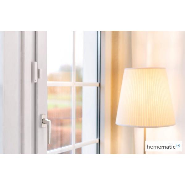 Homematic IP Smart Home Fenster- und Türkontakt mit Magnet HmIP-SWDM