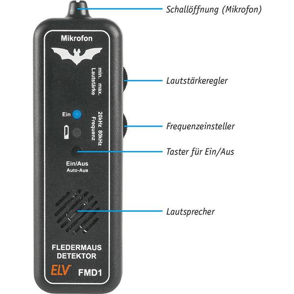 ELV Bausatz Fledermaus-Detektor FMD1
