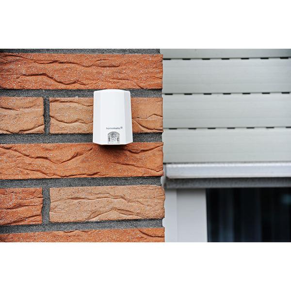 ELV Homematic IP Komplettbausatz Lichtsensor außen HmIP-SLO, für Smart Home / Hausautomation