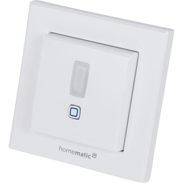 Homematic IP Bewegungsmelder HmIP-SMI55 mit 2-Kanal-Funksender, im 55er-Rahmen – innen