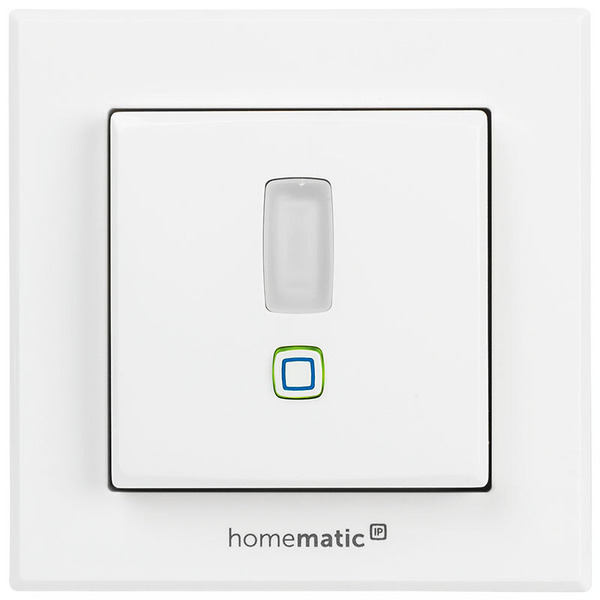 ELV Homematic IP Komplettbausatz Bewegungsmelder für 55er Rahmen HmIP-SMI55 mit 2-Kanal-Funksender