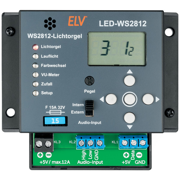 ELV Komplettbausatz Lichtorgel LED-WS2812