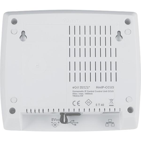 Homematic IP Starter Set mit Smart Home Zentrale CCU3 und 2x Rollladenaktor für Markenschalter